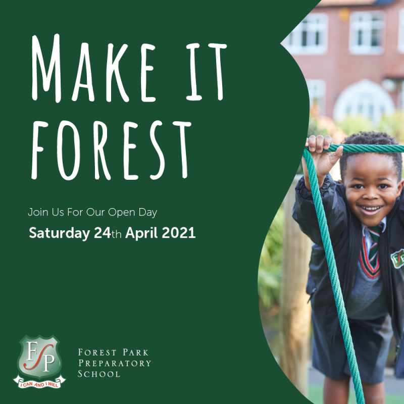 Join us for our open day on the 24th of April.