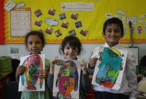 Year 1 Picasso Self-Portraits