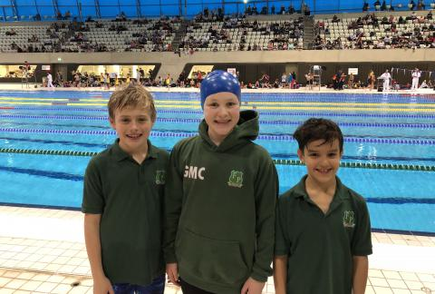 Medal Success for Swimmers