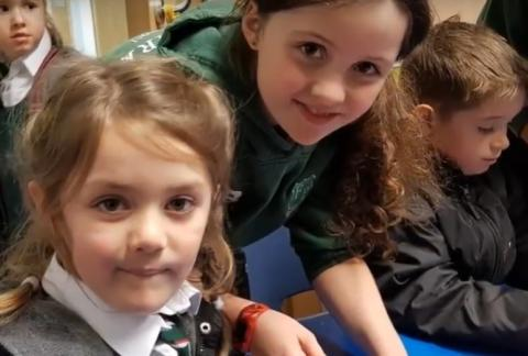 VIDEO: Year 5 & Pre-Prep Buddies