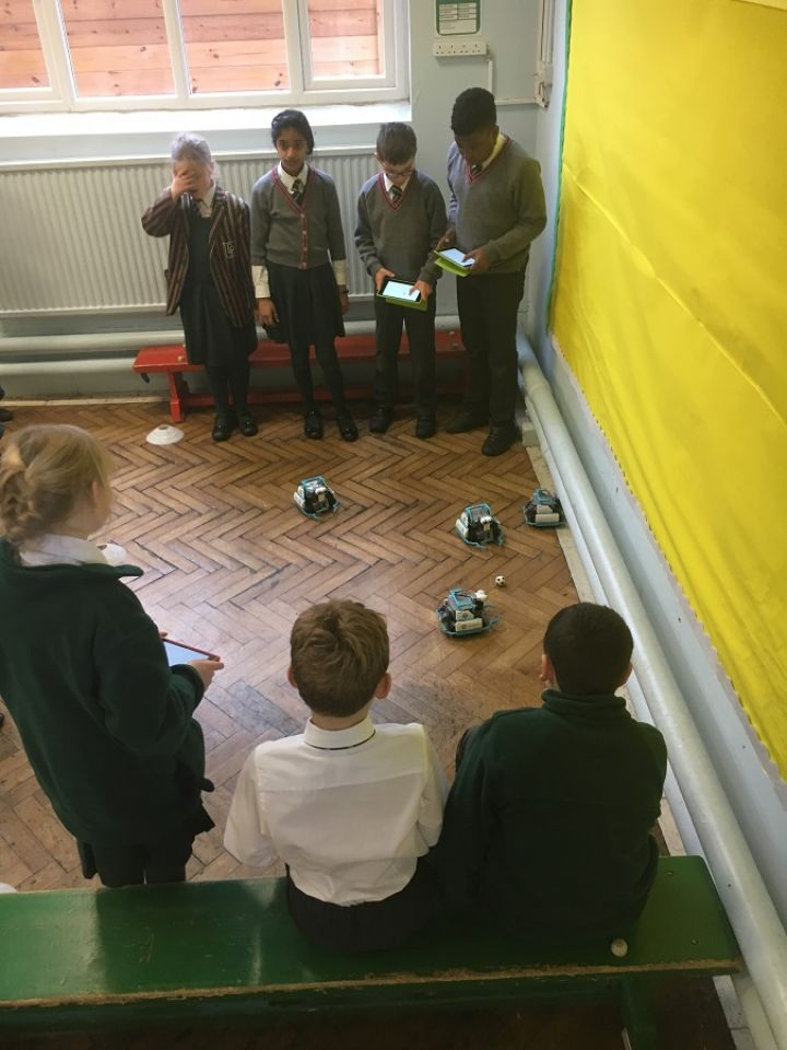 I Robot in Year 5