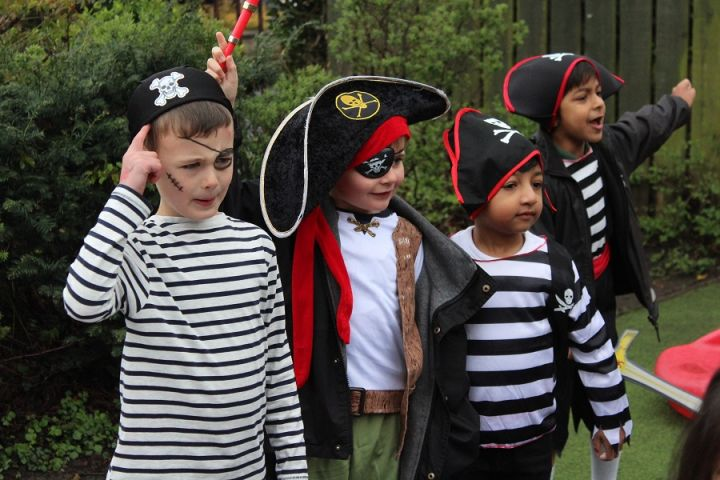 Ahoy There! It's a Pirate's Life in Reception