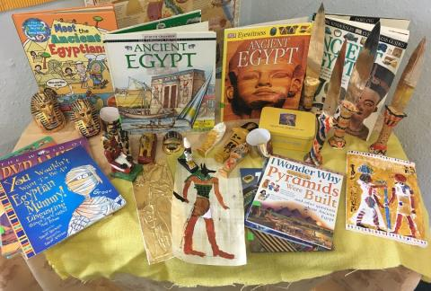 Exciting Ancient Egyptian Workshop in Year 4