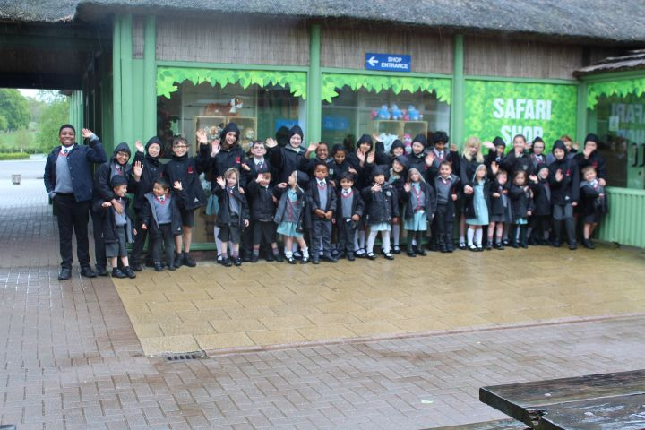 Pre-Prep and Year 5 Go On A Safari Adventure at Knowsley