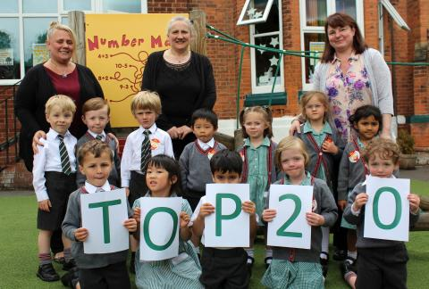 Forest Park Prep Celebrates Top 20 Nurseries Awards