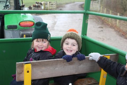 Early Years Trip to Smithills Open Farm