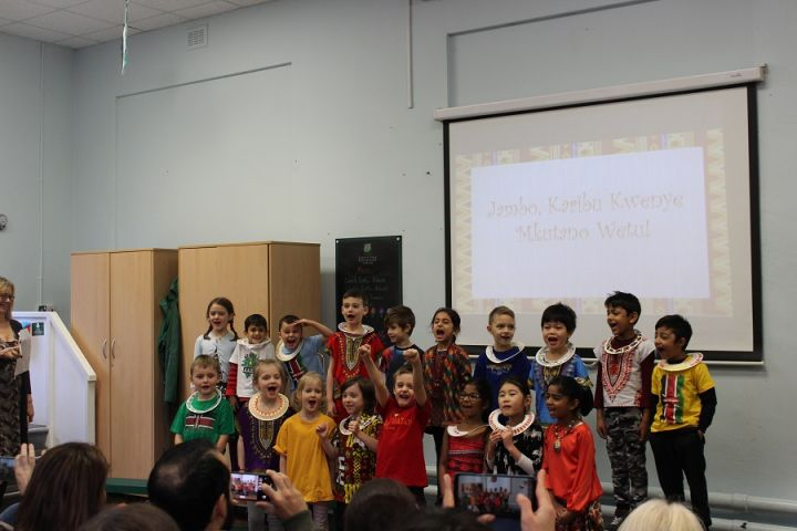 Year 1's Stunning Safari Class Assembly